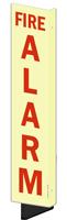Fire Alarm GlowSmart™ Sign (with Arrow)