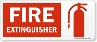 Fire Extinguisher (with graphic on right)