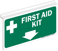 First Aid Kit Z-Sign For Ceiling