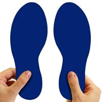 6 Inch Durable Floor Marking Footprints
