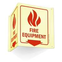 Fire Equipment (with arrow and graphic)