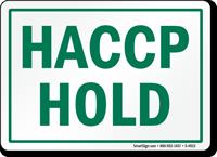 HACCP Hold