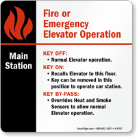 Key Off/Key On/Key Bypass Sign
