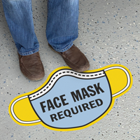 Mask Shaped - Face Mask Required