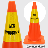 Men Working Cone Collar