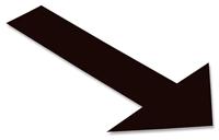 Floor Marking Arrow