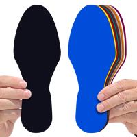 Regular Footprints Shape Floor Marking
