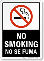 No Smoking / No Se Fuma Sign
