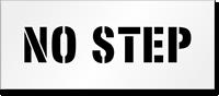 No Step Floor Stencil