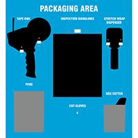 Packaging Area Shadow Board Kit
