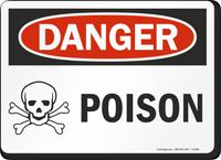 Danger Poison Sign