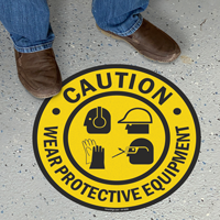 Wear Personal Protective Equipment Sign