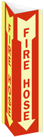 Fire Hose (Arrow) Sign