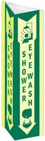 Shower / Eye Wash Sign