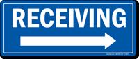Receiving Right Arrow Sign