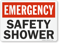 Emergency: Safety Shower