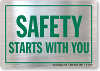 Safety Starts With