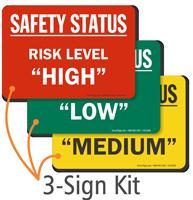 Risk Level High Low Medium Status Magnetic Kit
