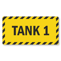 Select Your Tank Number From 1 To 18 Sign