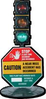 Stop! Accident Occurred La Seguridad Sign