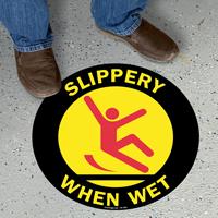 Slippery When Wet SlipSafe Floor Sign