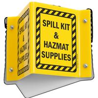 Spill Kit & HazMat Supplies Sign