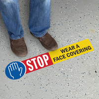 STOP - Wear a Face Covering