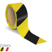 2 Inch Striped Reflective Floor Marking Tape