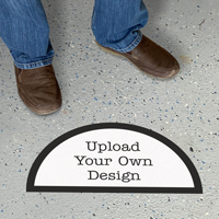 Upload Your Own Design Custom SlipSafe Floor Sign