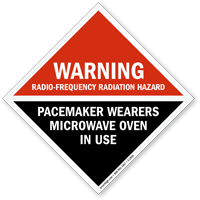 Warning Radio-Frequency Radiation Hazard Sign