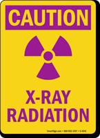X-Ray Radiation Caution Sign