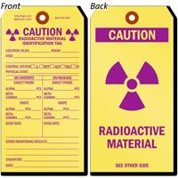Radioactive Material Identification Tag