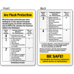 Arc Flash Wallet Card