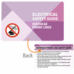 Electrical Safety Guide Overhead Power Lines Wallet Card
