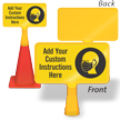 Custom ConeBoss Sign