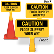 Floor Slippery When Wet ConeBoss Sign