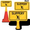 Slippery ConeBoss Sign