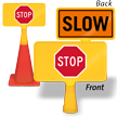 Stop/Slow ConeBoss Sign