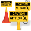 Wet Floor ConeBoss Sign