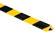 Corner Protection Bumper Guard Type E, Black-Yellow