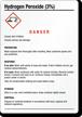 Hydrogen Peroxide (3%) GHS Label
