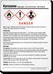 Kerosene Flammable GHS Sign