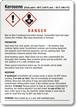 GHS Kerosene Label - Medium