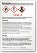 Kerosene GHS Label - Medium