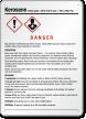 Kerosene GHS Sign