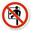 ISO Prohibited Action Sign