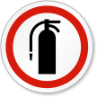 Fire Extinguisher ISO Sign