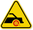 ISO Car Boot Symbol Warning Sign