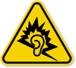 ISO Loud Noise Symbol Warning Sign