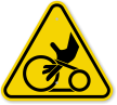 ISO Entanglement Symbol Triangle Warning Sign